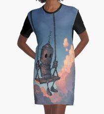 The Meteorologist Graphic T-Shirt Dress