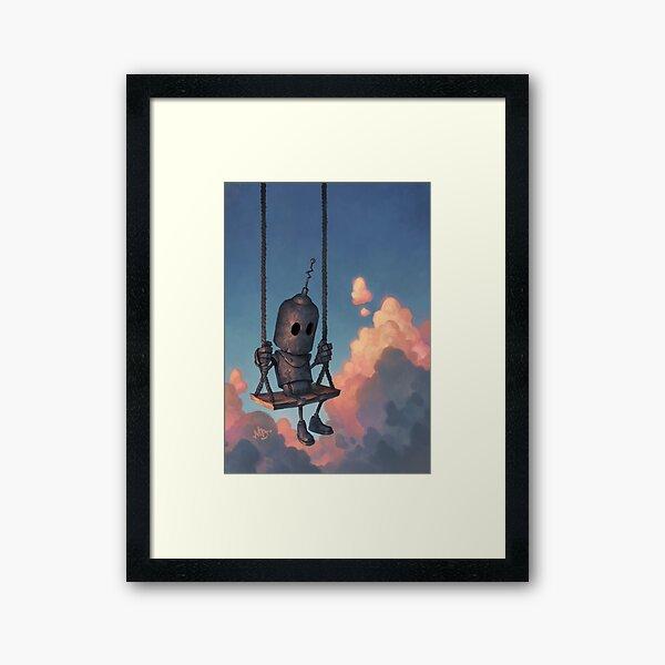 The Meteorologist Framed Art Print