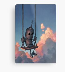 The Meteorologist Metal Print