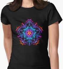 Energetic Geometry - The Magi's Wish    Women's Fitted T-Shirt