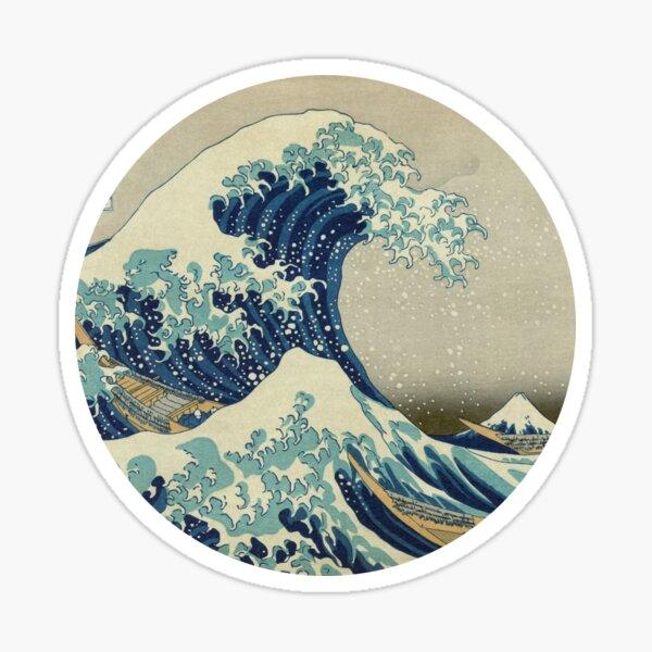 Hokusai Kaiju T-Shirt Sticker