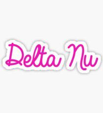 Delta Nu-Legally Blonde  Sticker