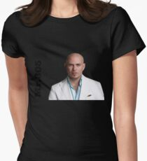 Pitbull. Mr. 305.  Women's Fitted T-Shirt