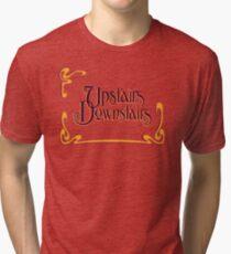 Upstairs Downstairs Tri-blend T-Shirt