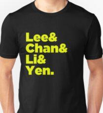 Chinese Martial Arts Legends Unisex T-Shirt