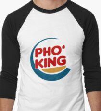 Pho King - Pho Lover's Design  Men's Baseball ¾ T-Shirt