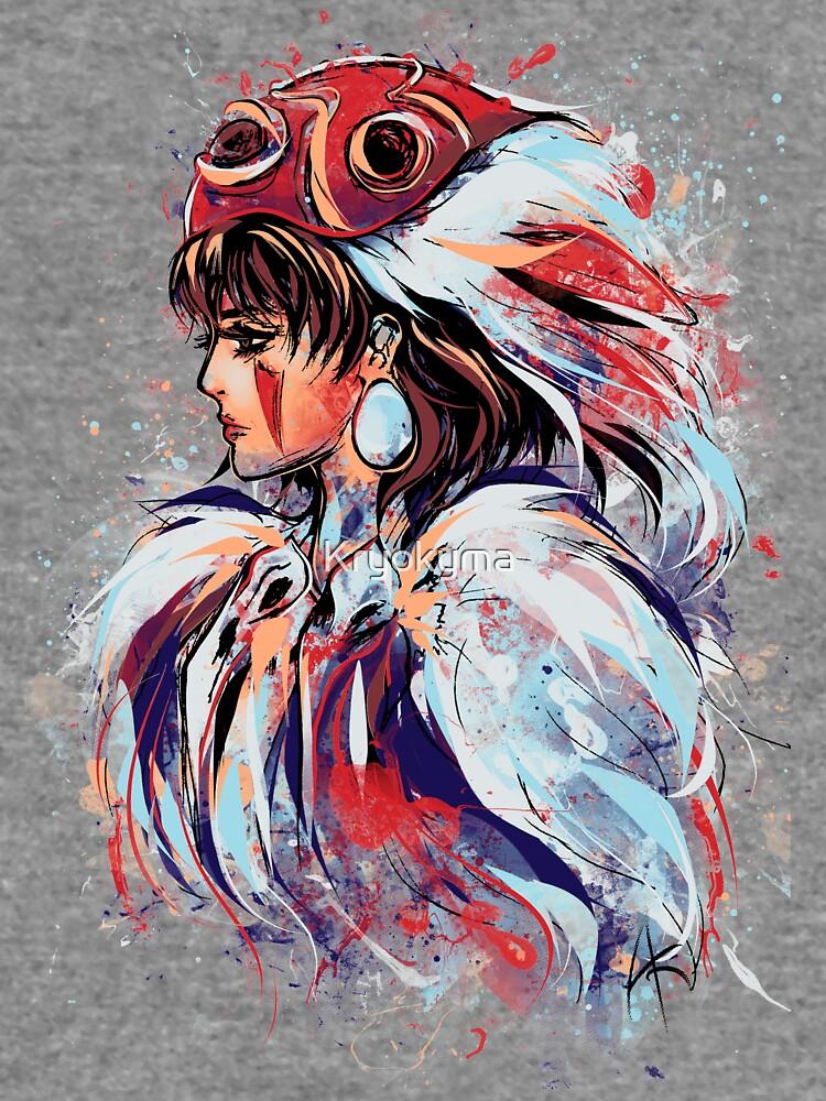 Abtract Princess by Kryokyma