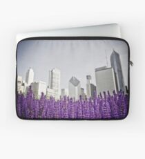 Lavender Fields - Chicago Laptop Sleeve