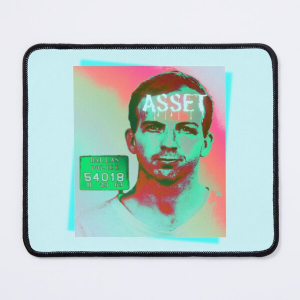 Lee Harvey Oswald Asset Mouse Pad