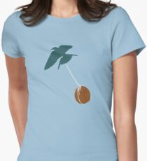Swallow that coconut Womens Fitted T-Shirt