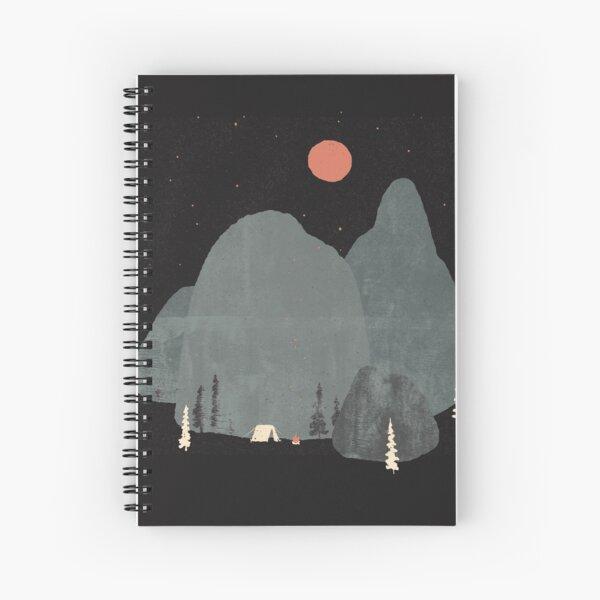 Last Night at Big Rock... Spiral Notebook