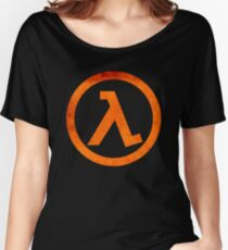 °GEEK° Half Life Rust Logo Women's Relaxed Fit T-Shirt