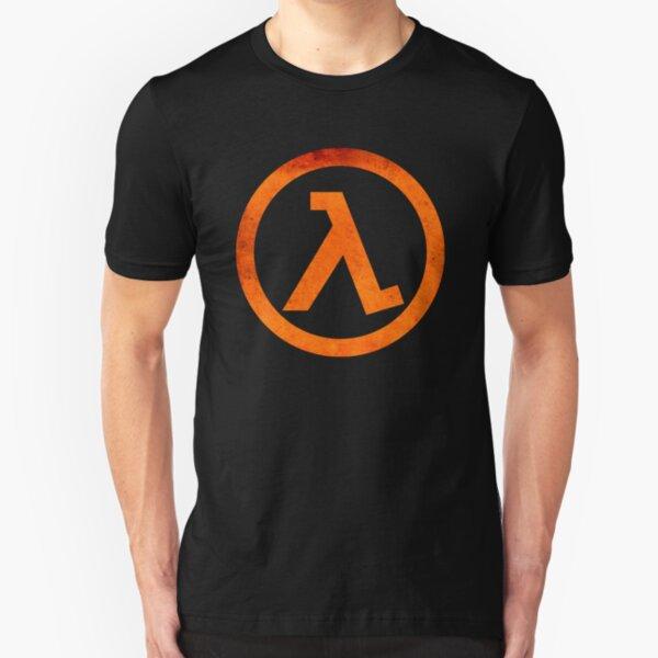 ° GEEK ° Half Life Rust Logo Slim Fit T-Shirt