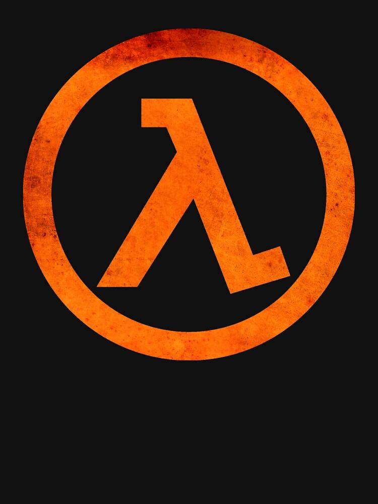 ° GEEK ° Half Life Rust Logo by ArtLOGO
