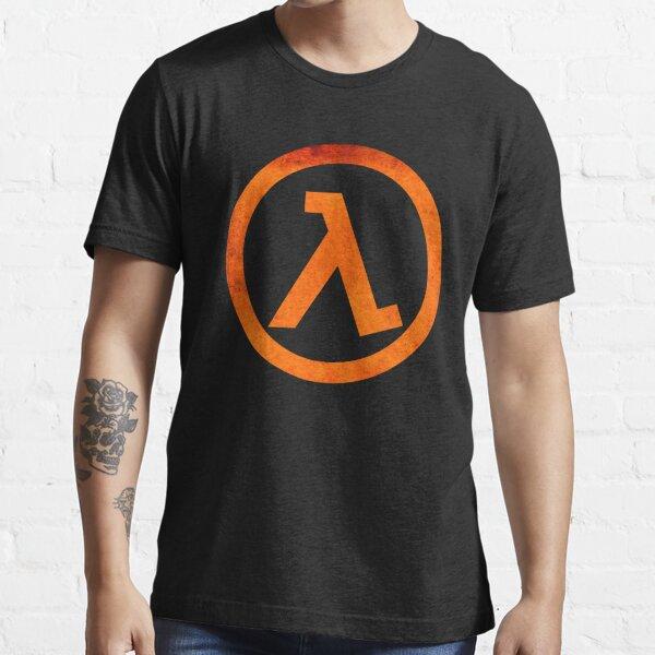 ° GEEK ° Logotipo de Half Life Rust Camiseta esencial