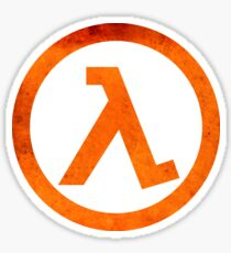 ° GEEK ° Half Life Rust Logo Sticker