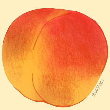 Peaches by slugspoon
