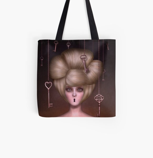 Condemned to Silence All Over Print Tote Bag