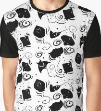 Stingray Pattern Graphic T-Shirt