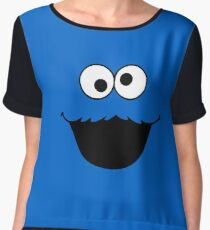 cookies monster 2 Chiffon Top
