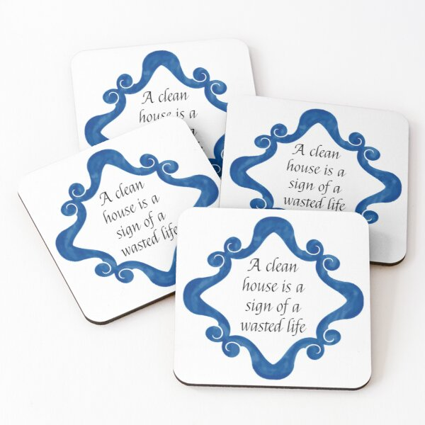 Better things to do Coasters (Set of 4)