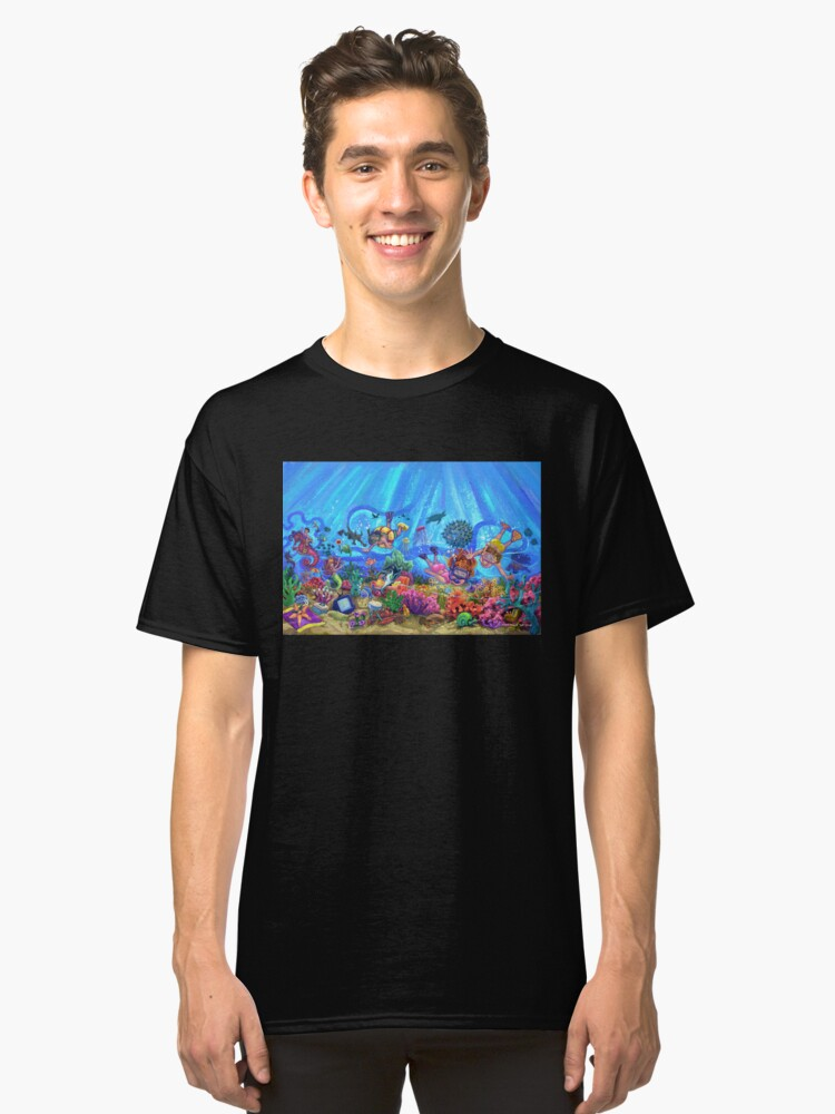 Under the Sea Classic T-Shirt Front