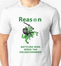 REASON BATTLING WOO Unisex T-Shirt