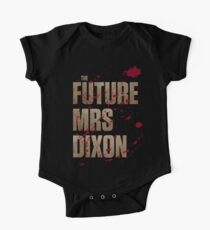 The Future Mrs Dixon One Piece - Short Sleeve