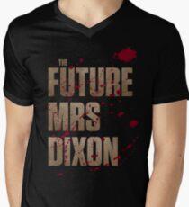 The Future Mrs Dixon Mens V-Neck T-Shirt