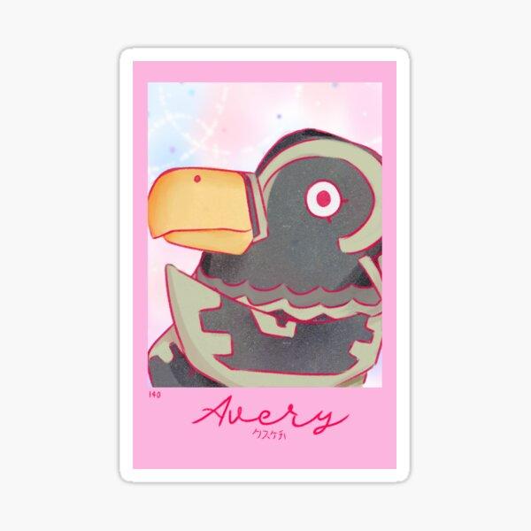 Avery Sticker
