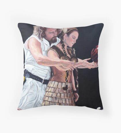 I Just Dropped In Throw Pillow