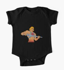 He-man Filmation style One Piece - Short Sleeve