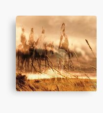 Riders on the Storm Canvas Print