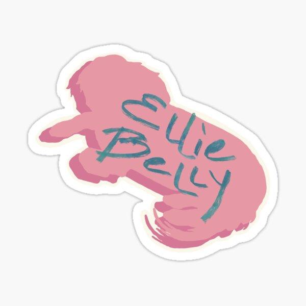 Ellie Belly Sticker