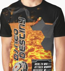 DJ Neo Destiny Trance Object-01 [Lava Crush Type]  Graphic T-Shirt