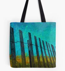 Barriers to the beach Tote Bag