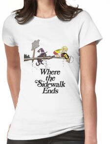 Soul Eater Where the sidewalk ends Womens Fitted T-Shirt