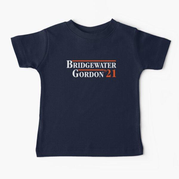 Denver Broncos Teddy Bridgewater Melvin Gordon 2021 Baby T-Shirt