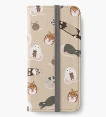 small pets iPhone Wallet/Case/Skin