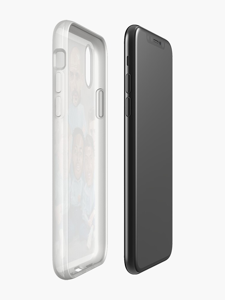 Vista alternativa de Funda y vinilo para iPhone Retrato de familia - Ciudad