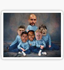 Family portrait - City  Sticker