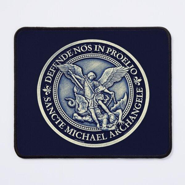 Saint Michael Archangel Medal, St Michael Archangel Mouse Pad