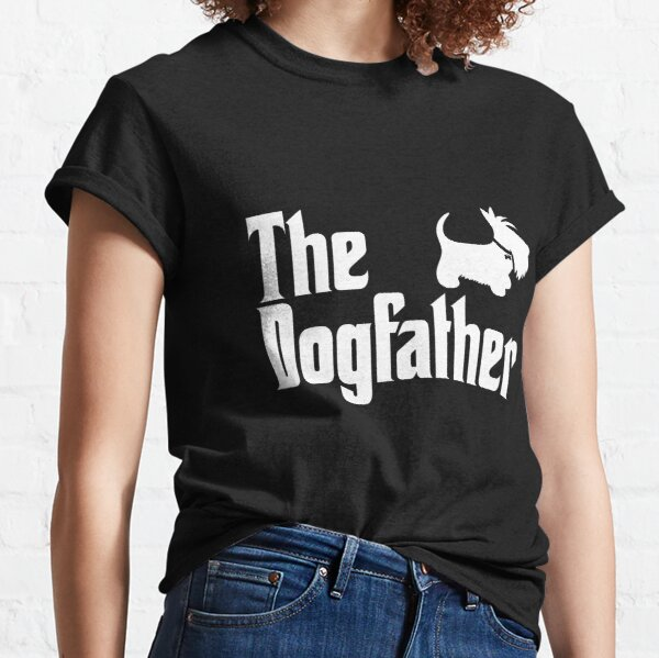 The Dogfather Copyright © BonniePortraits on Redbubble.com Classic T-Shirt