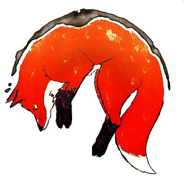 Coffee Stained Fox by GuyWithRedHair
