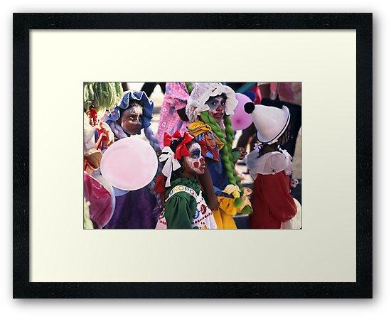 Masquerade - Children's carnival  by Carole Anne Ferris