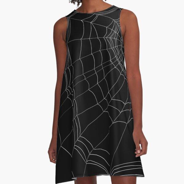 Lazy Spider's Web A-Line Dress