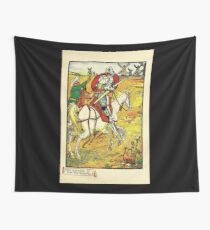 Don Quixote of the Mancha retold by Judge Parry Illustrated by Walter Crane 1920 59 - Don Quixote and the Windmills Wall Tapestry