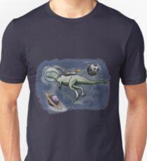 A Space Dinosaur - Colour T-Shirt