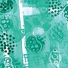 Abstract seedpods by Liz Plummer