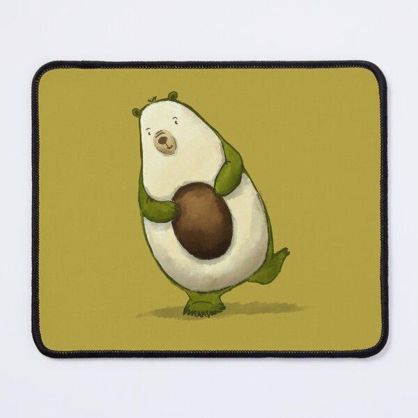 Avocado Bear Mouse Pad